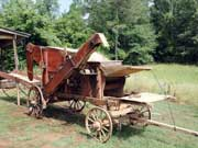 Artifact example: Geiser No. 4 separator grain thresher made in 1869