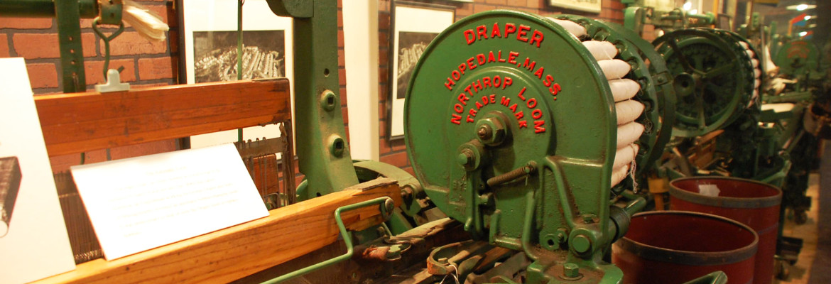 Textile loom from Chicopee Mill