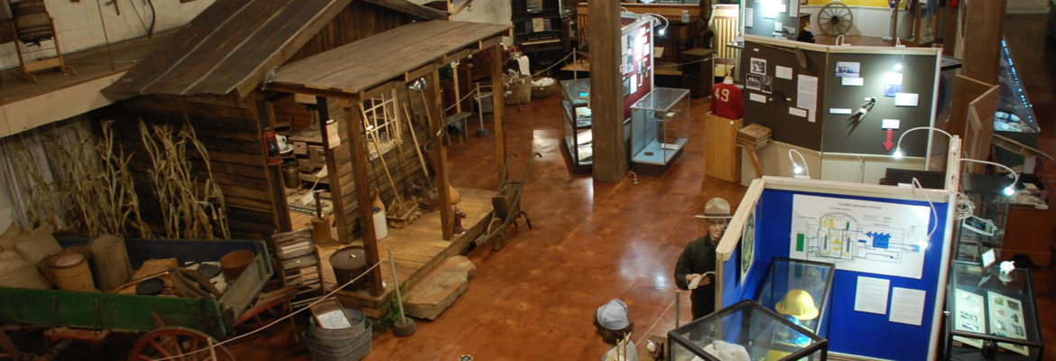 Exhibit Hall of Oconee Heritage Center